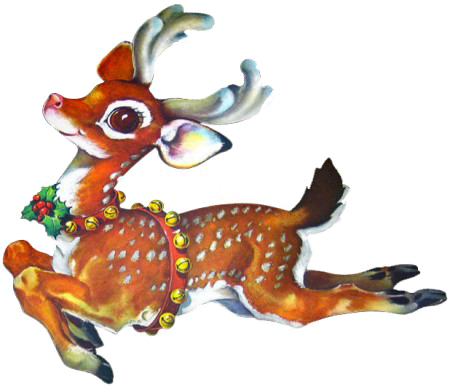 reindeer_no background